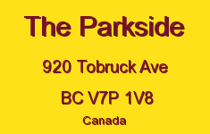 The Parkside 920 TOBRUCK V7P 1V8