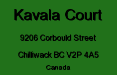 Kavala Court 9206 CORBOULD V2P 4A5
