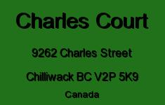 Charles Court 9262 CHARLES V2P 5K9