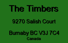 The Timbers 9270 SALISH V3J 7C4