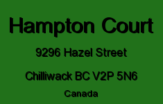 Hampton Court 9296 HAZEL V2P 5N6