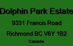 Dolphin Park Estate 9331 FRANCIS V6Y 1B2