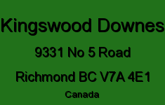 Kingswood Downes 9331 NO 5 V7A 4E1