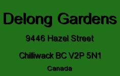 Delong Gardens 9446 HAZEL V2P 5N1