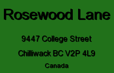 Rosewood Lane 9447 COLLEGE V2P 4L9