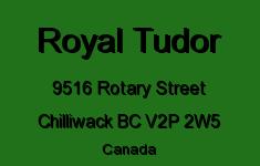 Royal Tudor 9516 ROTARY V2P 2W5