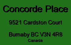 Concorde Place 9521 CARDSTON V3N 4R8