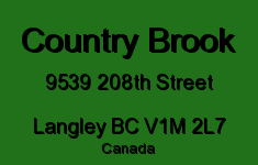 Country Brook 9539 208TH V1M 2L7