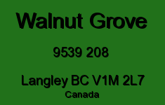 Walnut Grove 9539 208 V1M 2L7