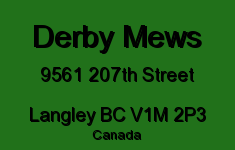 Derby Mews 9561 207TH V1M 2P3