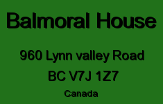 Balmoral House 960 LYNN VALLEY V7J 1Z7