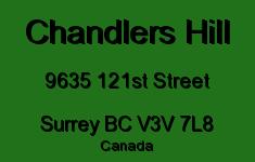 Chandlers Hill 9635 121ST V3V 7L8