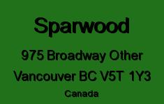 Sparwood 975 BROADWAY V5T 1Y3
