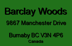 Barclay Woods 9867 MANCHESTER V3N 4P6