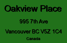 Oakview Place 995 7TH V5Z 1C4