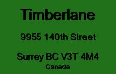 Timberlane 9955 140TH V3T 4M4