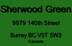 Sherwood Green 9979 140TH V3T 5W2