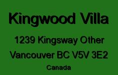 Kingwood Villa 1239 KINGSWAY V5V 3E2