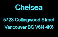 Chelsea 5723 COLLINGWOOD V6N 4K6
