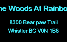 The Woods At Rainbow 8300 BEAR PAW V0N 1B8