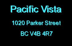 Pacific Vista 1020 PARKER V4B 4R7