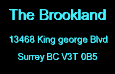 The Brookland 13468 KING GEORGE V3T 0B5