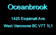 Oceanbrook 1425 ESQUIMALT V7T 1L1