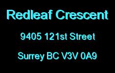 Redleaf Crescent 9405 121ST V3V 0A9