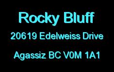 Rocky Bluff 20619 EDELWEISS V0M 1A1