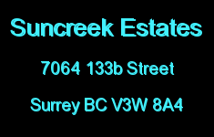 Suncreek Estates 7064 133B V3W 8A4