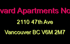 Boulevard Apartments No 3 Ltd 2110 47TH V6M 2M7