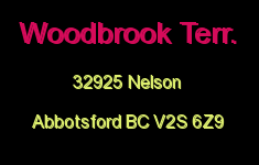 Woodbrook Terr. 32925 NELSON V2S 6Z9