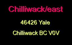 Chilliwack/east 46426 YALE V0V