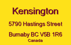 Kensington 5790 HASTINGS V5B 1R6