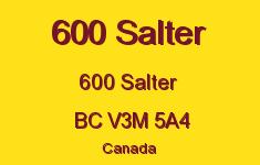 600 Salter 600 SALTER V3M 5A4
