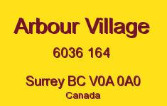 Arbour Village 6036 164 V0A 0A0