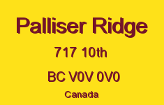 Palliser Ridge 717 10TH V0V 0V0