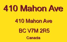 410 Mahon Ave 410 MAHON V7M 2R5