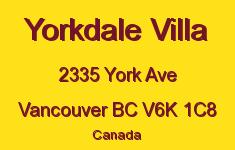 Yorkdale Villa 2335 YORK V6K 1C8