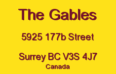 The Gables 5925 177B V3S 4J7