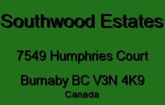 Southwood Estates 7549 HUMPHRIES V3N 4K9