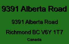 9391 Alberta Road 9391 ALBERTA V6Y 1T7