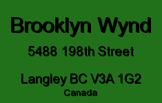 Brooklyn Wynd 5488 198TH V3A 1G2