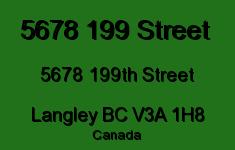 5678 199 Street 5678 199TH V3A 1H8