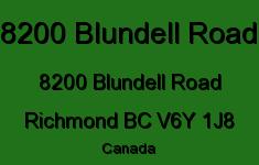 8200 Blundell Road 8200 BLUNDELL V6Y 1J8