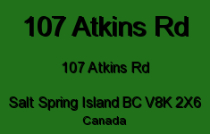 Summerside 107 Atkins V8K 2X6