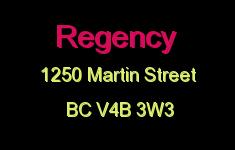 Regency 1250 MARTIN V4B 3W3