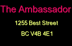The Ambassador 1255 BEST V4B 4E1
