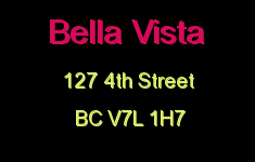 Bella Vista 127 4TH V7L 1H7