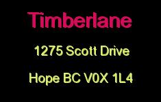 Timberlane 1275 SCOTT V0X 1L4